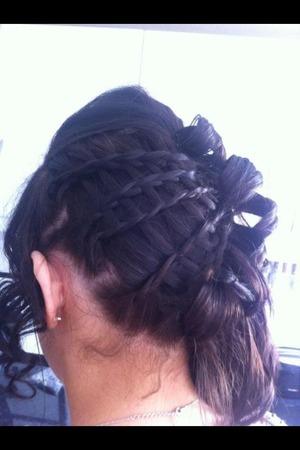 Unique prom hair