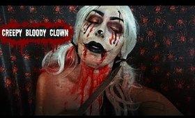 Creepy Bloody Clown   Halloween Tutorial