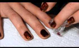 2 Minute Marble Nails! ♥♥