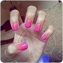 Orane and pink gradient