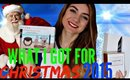 What I got for CHRISTMAS 2015!!!!