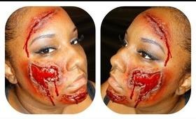 Halloween Tutorial: Bloody wound