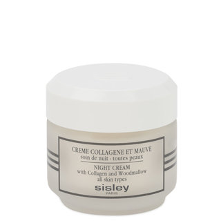 Sisley-Paris Night Cream with Collagen and Woodmallow