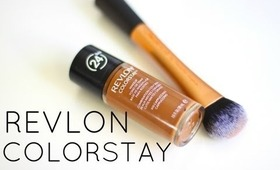 First Impression ~ Revlon Colorstay Foundation