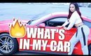 MY CAR TOUR! WHAT'S IN MY CAR? ♡ BeautyByGenecia
