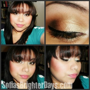 Neutral & Coral Look