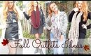 4 OUTFITS FOR FALL   Lookbook   Fashion