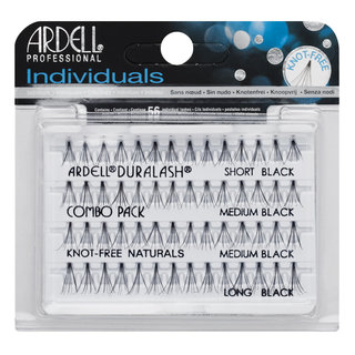 Individuals Knot-Free Natural Lashes Combo Black