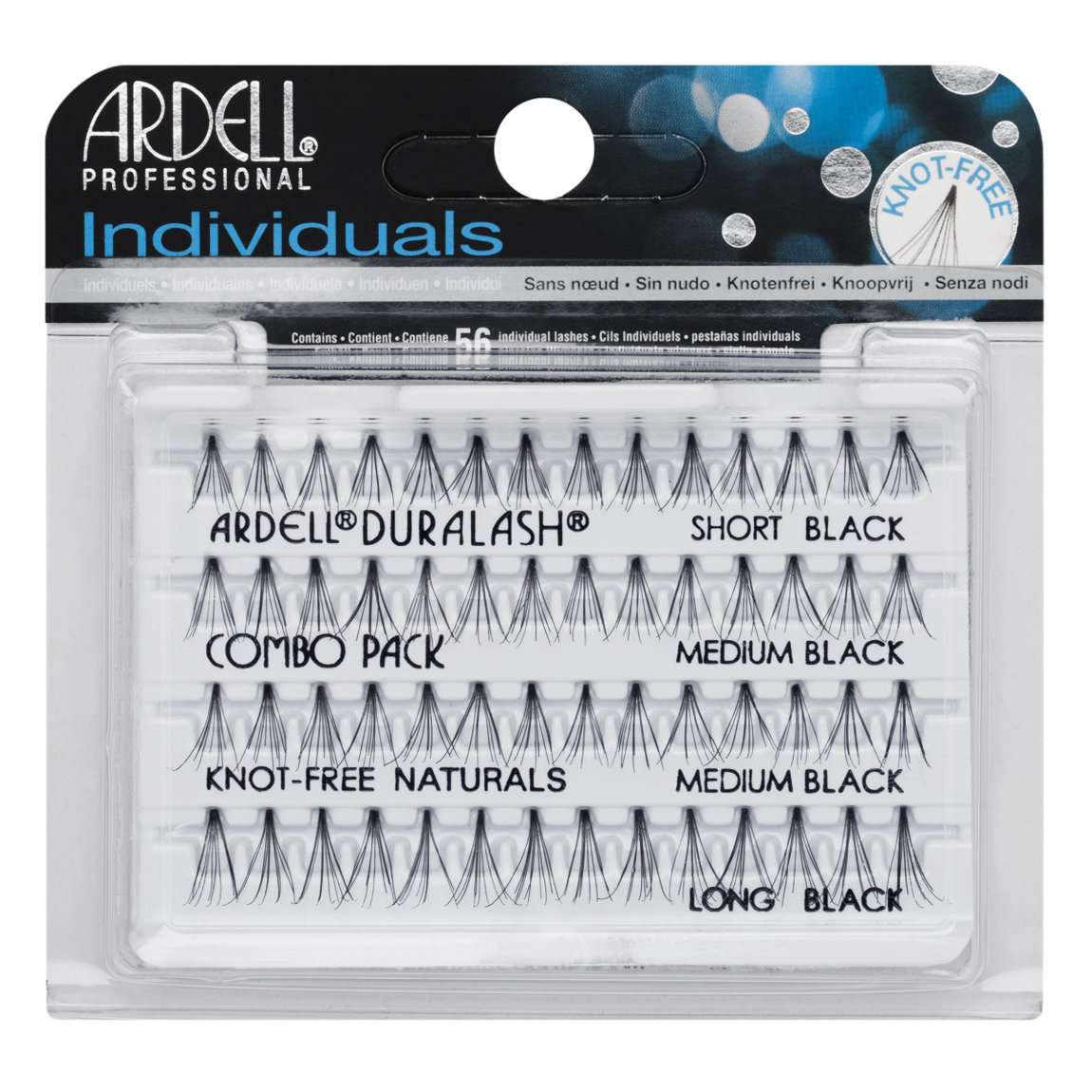 Ardell Individuals Knot-Free Natural Lashes Combo Black