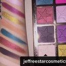 Jeffree Star cosmetics beauty killer palette swatches
