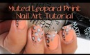 Easy Leopard Print Nail Art Tutorial
