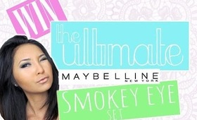 INTERNATIONAL MAYBELLINE GIVEAWAY!!!