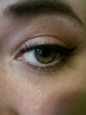 I wear liner almost everyday. Always have a little wing for that extra oomph. :]