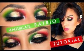 FIESTA MEXICANA  tutorial de Maquillaje / Mexican makeup tutorial   auroramakeup