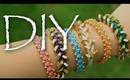 DIY Arm Candy Bracelet Tutorial (Stacked Friendship Bracelets)
