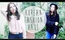 KOREAN FALL FASHION HAUL | Bethni