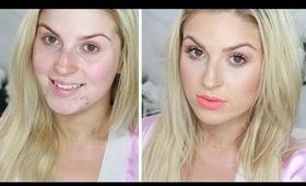 Chit Chat GRWM ♡ Simple Summer Fresh Makeup! Orange/Peach Velourlips