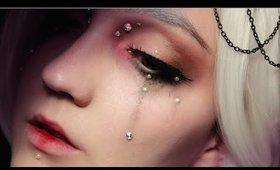 Sad Doll Makeup