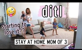 QUARANTINED DAY IN THE THE LIFE WITH 3 KIDS | NEW HOME PLANS | Kendra Atkins