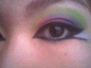 my twist on the arabic rainbow :D