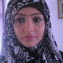 Hijab style assymetric
