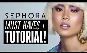 Sephora Must-Haves + Tutorial! Smashbox, Clinique, BITE, Huda, + Laneige!