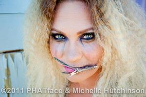 Rock Chick  Hair and MU, Jen P Michelle Hutchinson Photography