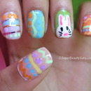Easter Egg and Bunny Nail Tutorial