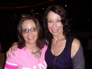 me and Deborah Lippmann @ Cosmoprof Las Vegas
