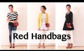 Red Handbag Pairings