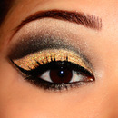 Yellow Cut-Crease