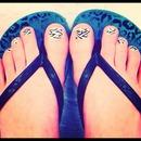 Zebra Toes!