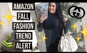 Amazon Fall Fashion Trends + Gucci Bag Giveaway!!