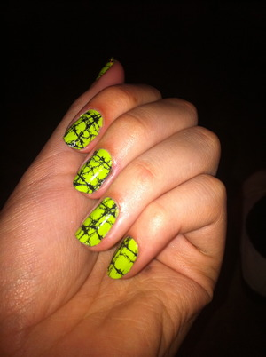 sally hansen nail sticker-thingies.  halloween anyone?