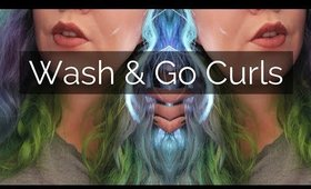 Wash & Dry Curls? IGK 2 in 1 Review | Hair Tutorial