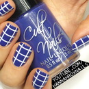Easy Grid Nail Art