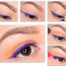 Makeup Trends «Colored Eyeliner»