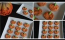 Cute and Easy Pumpkin Pretzel Halloween Treats