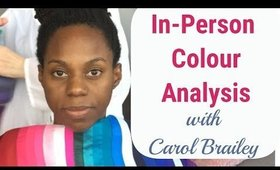 Follow the Steps of an In-Person Colour Analysis | How to Determine Cool Skin Undertone, True Winter
