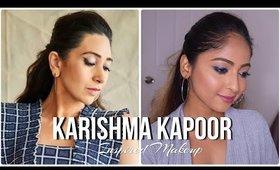 #KARISHMAKAPOOR Inspired #Makeup look | Blue Winged Eyeliner | Stacey Castanha
