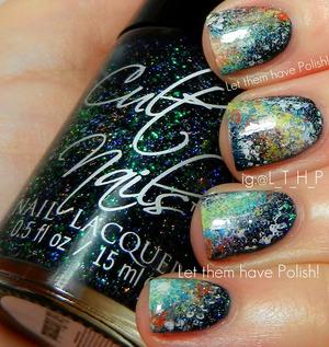 A galactic manicure