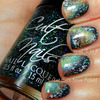 31 Day Challenge Galaxy Nails