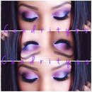 SUMMER MAKEUP: Purple Smokey eyes