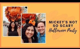 Mickey's Not So Scary Halloween Party Opening Night 2019 Vlog | Meagan Aguayo