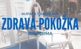 """Na stánku """"ZDRAVÁ POKOŽKA"""" BIODERMA/AUPARK Bratislava"""