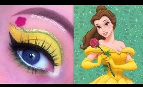 Disney Princess Belle Makeup Look
