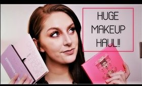 HUGE MAKEUP HAUL | ANASTASIA BEVERLY HILLS, JEFFREE STAR, MORPHE , JUVIA'S PLACE