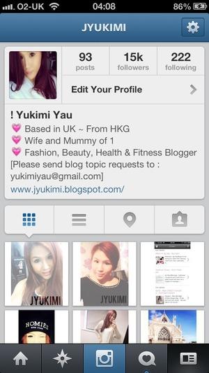 www.instagram.com/jyukimi  Fashion, Beauty and Health & Fitness Blogger | United Kingdom  Wife and Mummy of One  @jyukimi