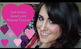 "JustSoraya ""Sweet Love"" Makeup Tutorial"
