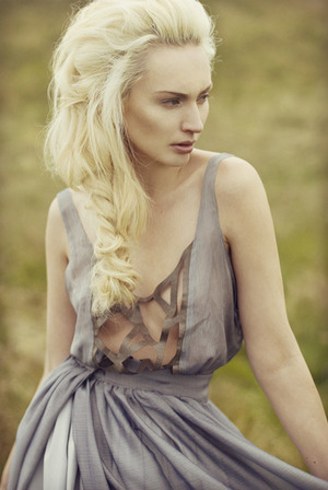 Lynn Mathieson by Anette Schive Photography. Hair by Austen Thomson. Make up by Rachel Gallagher. Dress by Maxine Miller